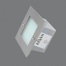 5901L-3000К Светильник встраиваемый светодиодный LED 3W(105*105*55)
