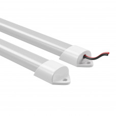 409024 Лента в PVC-профиле PROFILED 400024 12V 19.2W 240LED 4500K п-кругл.расс.мат-л:пластик,1шт=2м