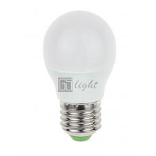 Светодиодная лампа E27 5W 220V ШАР Warm White