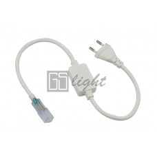 Шнур power cord для подключения светодиодных лент 5050 220V