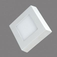 702SQ-6W-3000K Светильник накладной,квадратный,LED,6W